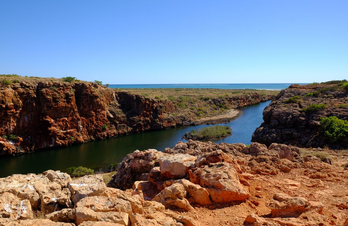Yardie Creek dans le Cape Range National Park